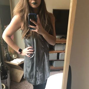 🖤 Sexy silver dress perfect for a night out 🖤